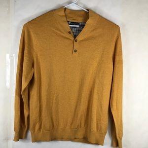 Banana Republic Factory Henley Sz XXL Gold  knit